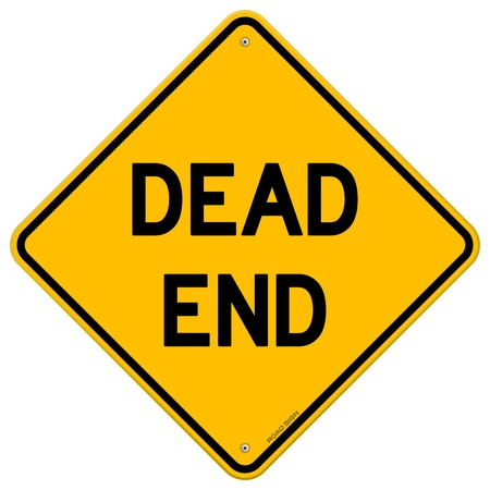 Dead End Sign Stock Vector - 13522778