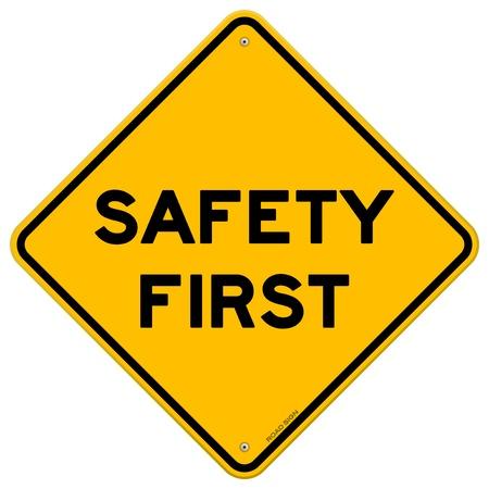 La sécurité d'abord Symbole