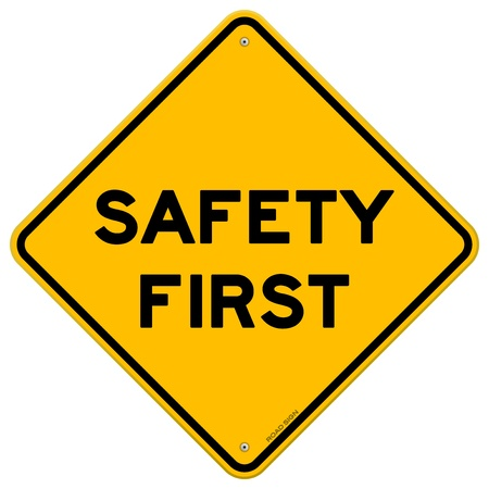 safety first: Safety First Symbol