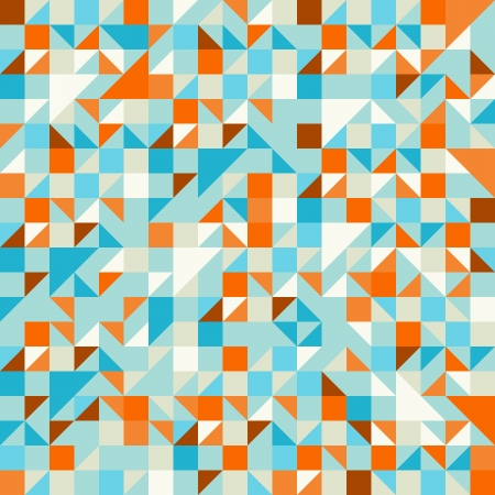 ターコイズ グリーンとブルーのパターン