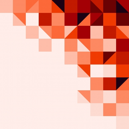 pixels: Red tiled background Illustration