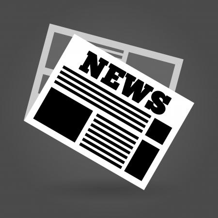 News Icon Stock Illustratie