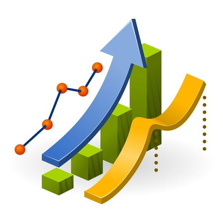 사업 실적 차트