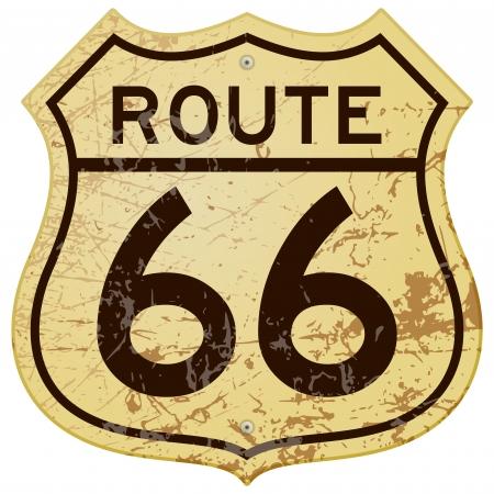 さびたルート 66