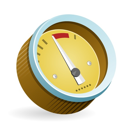 speedmeter: Speedometer Icon Illustration Illustration