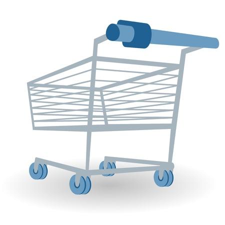 Shopping Cart Illustration Stock Vector - 15149250