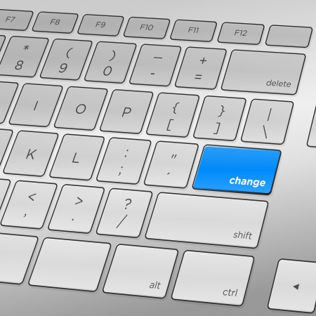 Change Keyboard Иллюстрация
