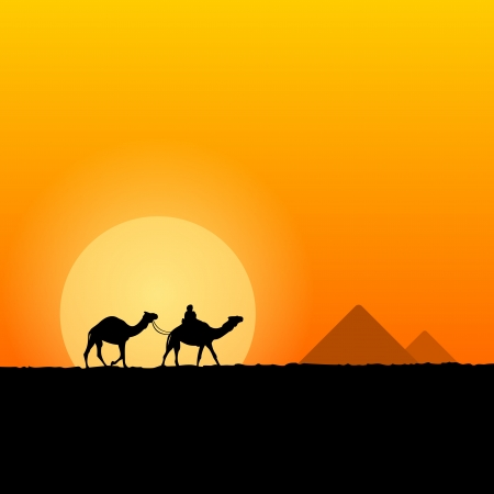 egypt: Hot African Scenery