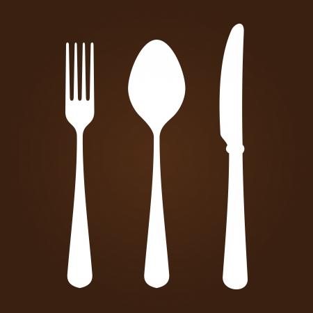 ナイフ フォークとスプーン