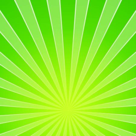 Green Light Beam Background Illustration