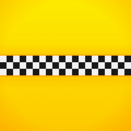 new york taxi: Yellow Checkerboard Pattern