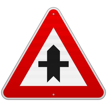 Crossroads Sign Stock Vector - 17063910