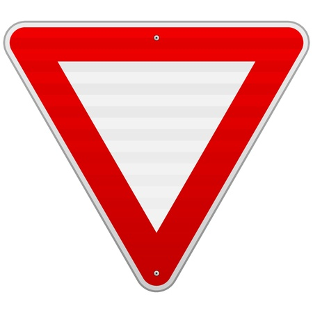 yield sign: Yield Triangle Sign