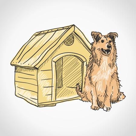 pup: Guard Dog Portrait