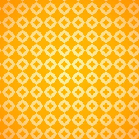 Yellow Decoration Stock Vector - 17924518
