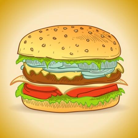 gourmet burger: Tasty Burger