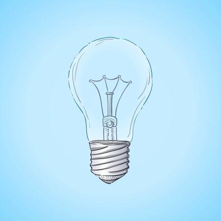 lightbulb: Lightbulb Illustration Illustration