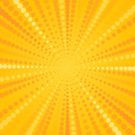 manic: Yellow Halftone Star