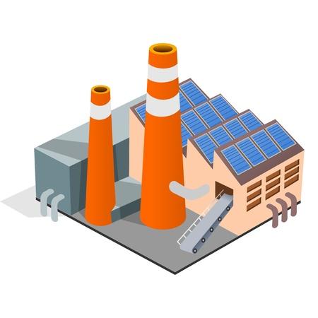 Factory Illustration Illustration