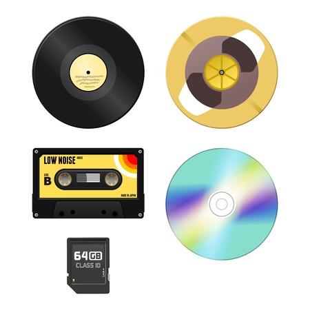 Music Media Stock Vector - 18956623