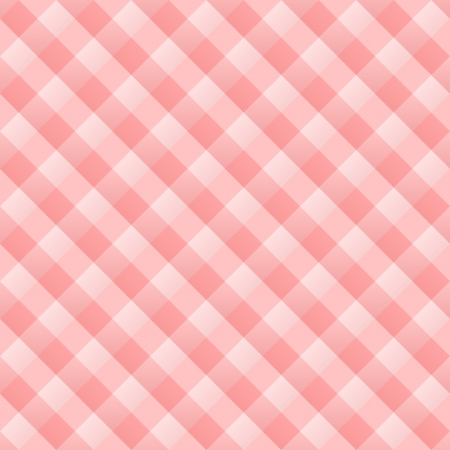 chequered drapery: Red Kitchen Pattern Illustration
