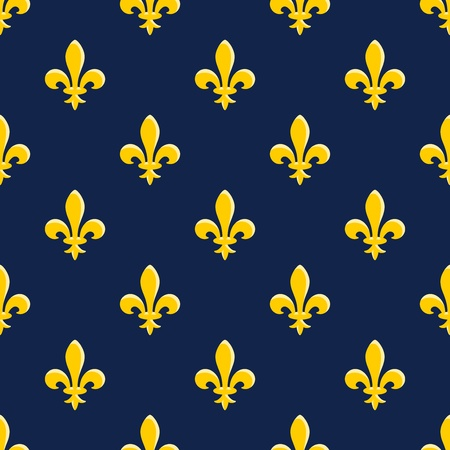 Yellow Emblem Pattern Vector