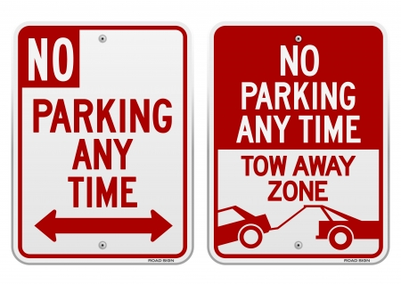 No Parking Sign Stock Vector - 20133458