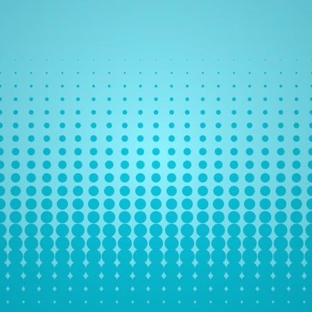 moire: Blue Halftone Backdrop