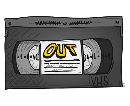 Video Cassette Stock Vector - 20133625