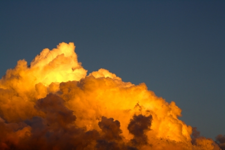 Dramatic Clouds Stock Photo - 20763612