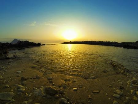 Sea Shore at Dusk Stock Photo - 20763687
