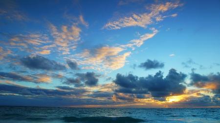 Sunset at Sea Stock Photo - 20763707