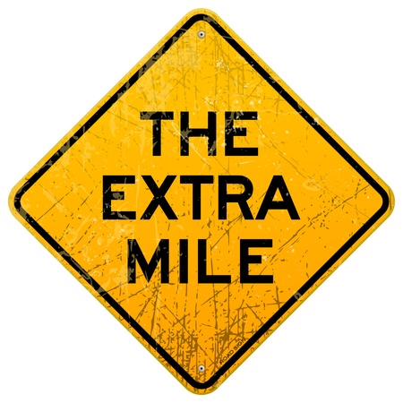 mile: The Extra Mile Illustration