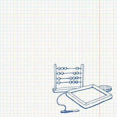 graphing: Tarjeta de contador y tiza