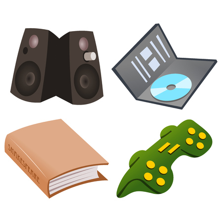 Gaming Icon Set Stock Vector - 22645330