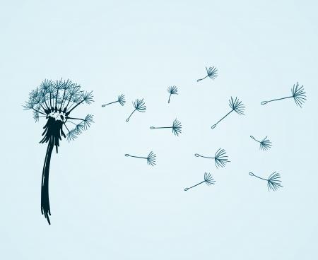 blowing dandelion: Blow Dandelion