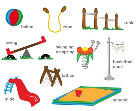 Playground Illustration Vector