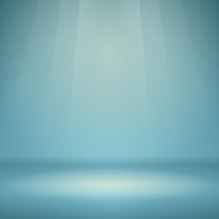 peaceful background: Blue Empty Scene