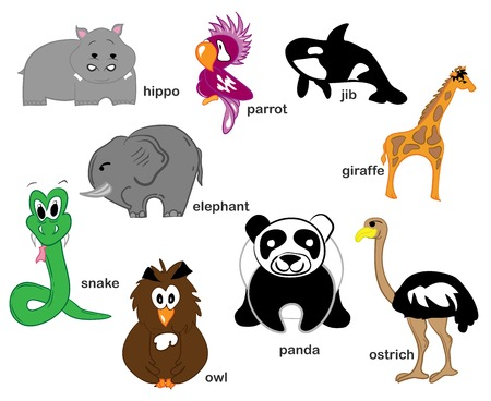 Wildlife Animals Vector