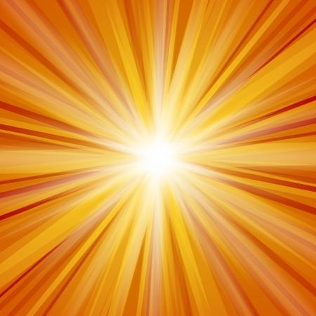 radiate: Orange Sunlight