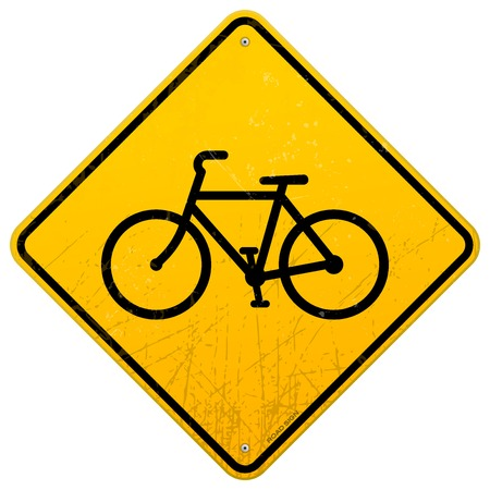 bicycle lane: Bike Sign