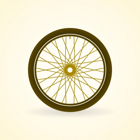 rubber tube: Bike Wheel