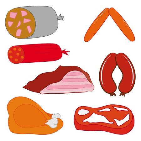 salame: Carne de porco e salame