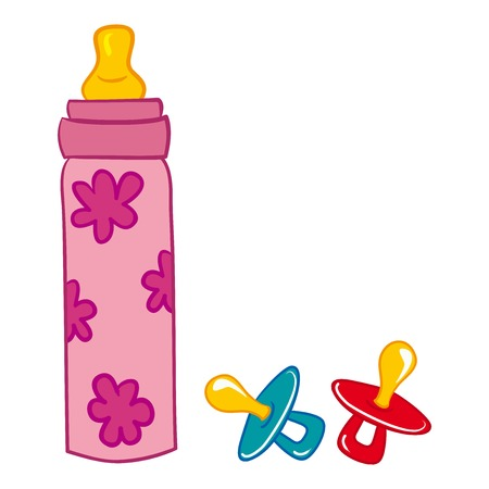 sterile: Baby Bottle and Pacifier