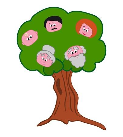 cousin: Family Tree Symbol