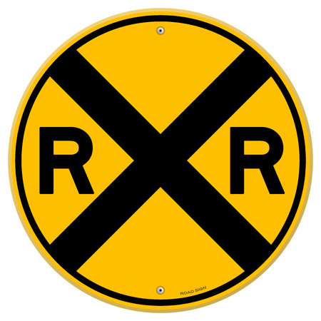 ferrocarril: Amarillo tren de sesión