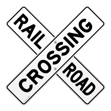 railroad crossing: Railroad Traffic Sign