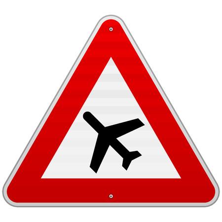 jetplane: Airport Road Sign