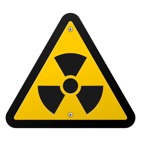 radiacion: S�mbolo de la radiaci�n nuclear