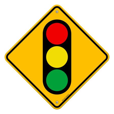 security lights: Traffic Light Symbol